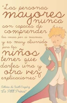 Find images and videos about quotes, le petit prince and el principito on We Heart It - the app to get lost in what you love. Little Prince Quotes, The Little Prince, More Than Words, Some Words, Book Quotes, Life Quotes, Love Book, Signs, Favorite Quotes