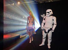 A Peter Pilotto Star Wars exclusive for Selfridge's Children Of The Revolution, Peter Pilotto, Modern History, For Stars, Futuristic, Runway Fashion, Presentation, Nerd, Star Wars