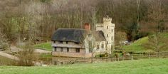 Can you believe this medieval manor is not hundreds of years old, but in fact a new self-build?