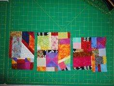 Alison's Scrap Quilt Tutorial - Basic techniques