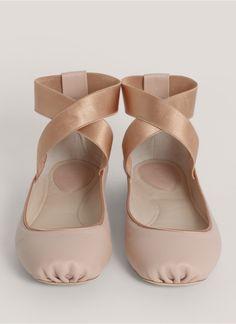 Chloe, ankle strap ballet flat