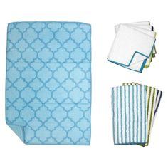Trellis Kitchen Essentials Textile Set -