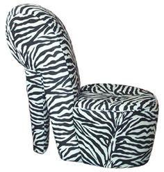 Great Zebra Print High Heel Chair Google Search With Cheap High Heel Chair