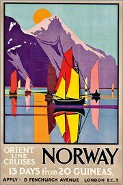 M.V. Jones - Orient Line Cruises Norway