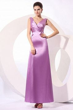Cheap 2017 prom dresses, Buy Quality prom dresses directly from China prom dresses long Suppliers: New Satin 2017 Prom Dresses Long Evening Party Wear Formal Women V Neck Gowns Pleat Bodice Vestido De Festa Sleeveless Satin Bridesmaids Gowns, Beach Bridesmaid Dresses, Prom Dresses 2017, Formal Dresses, Purple Satin, Evening Dresses Online, Evening Gowns, Prom Dresses, Long Prom Dresses
