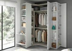 27 modern wardrobe idea for your home 25 Wardrobe Design Bedroom, Modern Wardrobe, Closet Bedroom, Home Bedroom, Small Space Interior Design, Kids Room Design, Corner Wardrobe, Closet Layout, Bedroom Cupboards