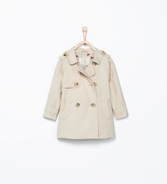 ZARA - ENFANTS - Trench boutons