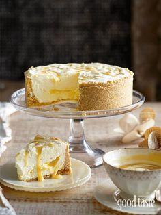 LEMON RIPPLE CHEESECAKE ~ recipe Kathy Knudsen ~ pic Brett Stevens/NewsLifeMedia