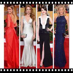 Best dressed red carpet sag awards 2014