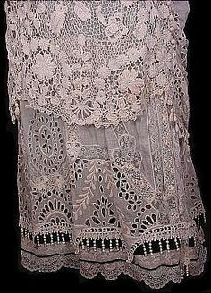 1912 irish crochet lace wedding LOVE THIS LACE! ❤️