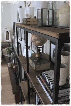 Vittsjö Ikea Hack… (rustic + industrial? Yes, please.)