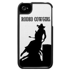 Rodeo Cowgirl IPhone Case
