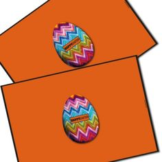 Chic easter set of 2 stylish easter sous plat place mats our happy easter m set of our stylish and unique easter place mats make a very useful original gift for the home you have the choice of elegant colours and negle Images