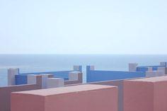 La Muralla Roja in Calp, (Alicante, Spain) Architect: Ricardo Bofill | Photo: Dalila Tondo