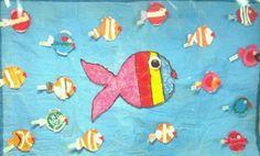 Mural Peixinhos Unidade Laranjeiras  Miraplus