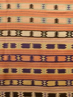 ~ Navajo weaving, circa 1920's