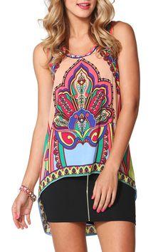Sass clothing Tipsy 60's Tunic - Womens dresses online, shop dresses online, dresses online australia, fashion dresses online, at Birdsnest Online