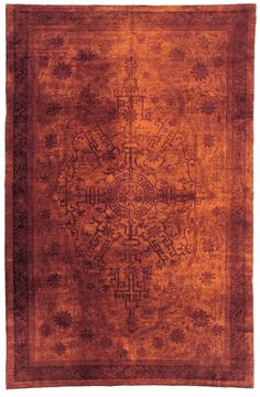 An early 20th century Chinese carpet. Price: $58,000