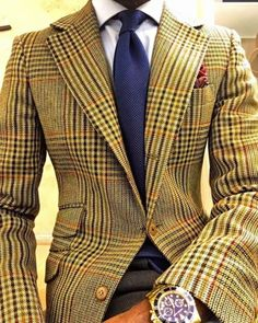 The art of the gentleman.according to Errol B. Der Gentleman, Gentleman Style, Mens Fashion Suits, Mens Suits, Classic Suit, Stylish Mens Outfits, Suit And Tie, Well Dressed Men, Sport Coat