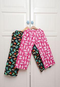 Handmade pajamas for boy and girl :) #handmade #pajamas #space #rabbits #diy #clothes #sew #sewing #craft #craftoholic #textile