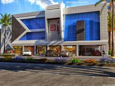 Front Elevation Designs, House Elevation, Facade Design, Exterior Design, Home Cinema Room, Shop Buildings, Commercial Architecture, Home Cinemas, Modern House Design