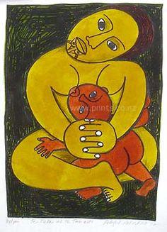 Te Keka me Te Tamaiti by Robyn Kahukiwa for Sale - New Zealand Art Prints Pattern Images, Pattern Art, Birth Art, Maori Designs, New Zealand Art, Nz Art, Black Love Art, Art Diary, Maori Art