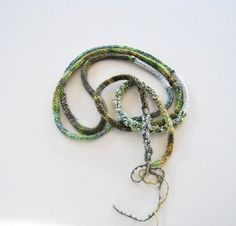 hand-crochet necklace