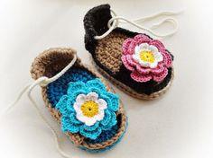 Yazlık Bebek Sandaleti Örneği | Hobilendik.net