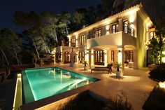 luxury residence located just above Port Andratx, Mallorca, Balearic Islands.