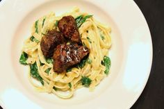 Copy Cat Olive Garden Steak Gorgonzola-Alfredo