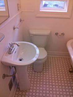 small bathroom. Small Bathroom, Toms, Sink, Home Decor, Small Shower Room, Sink Tops, Bathroom Small, Tiny Bathrooms, Interior Design