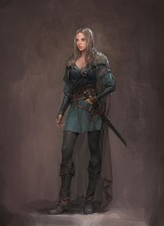 Character art thief - character art female, character art male, character art fantasy, c Female Character Concept, Female Character Inspiration, Fantasy Character Design, Character Art, Warrior Outfit, Warrior Girl, Fantasy Warrior, Dnd Characters, Fantasy Characters