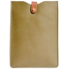 N'Damus London - iPad Mini Sleeve Olive (340 MYR) ❤ liked on Polyvore featuring accessories and tech accessories