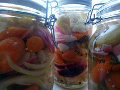 LCHF-bloggen: Syltede grønnsaker med jalapeño Lchf, Low Carb Diet, Shrimp, Meat, Vegetables, Food, Blogging, America, Hoods