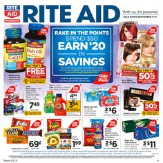 Rite Aid Weekly Ad September 11 - 17, 2016 - http://www.olcatalog.com/grocery/rite-aid-weekly-ad.html