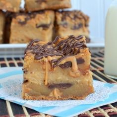 Peanut Butter Cheesecake Cookie Bar by BruCrewLife