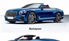 2018 Bentley Continental GT Convertible Rendering Looks Spot On : While the automotive producer is letting us enjoy the fixed-roof model for now the world wide web didn't need too much time to come up with a rendering of the Continental GT Convertible. Thanks to digital art label spdesignsest we can now enjoy these images of the open-top Grand Tourer. The contraption portrayed here is very close to what we expect from the production model albeit with the rear deck appearing to be a bit vagu