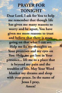 Good Prayers, Good Night Blessings, Prayers For Healing, Good Night Prayer Quotes, Good Night Messages, Goodnight Quotes Inspirational, Inspirational Prayers, Prayer For Mothers, Prayer For Today