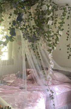 Room Design Bedroom, Room Ideas Bedroom, Bedroom Inspo, Bedroom Decor, Cute Room Ideas, Cute Room Decor, Fairy Room, Indie Room, Pretty Room