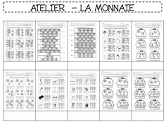 La monnaie Numeracy, Interactive Notebooks, Best Teacher, Mathematics, Kids Learning, Classroom, Teaching, Education, Cycle 2