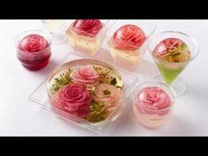 3D GELATIN ART WATER LILY FLOWER - YouTube