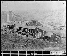 Consolidated gold mine in the heyday. This structure is gone but the mine is still there for tours.