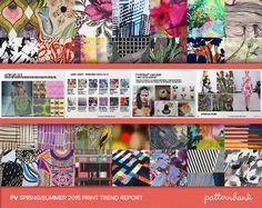 The Ultimate Spring/Summer 2015 Print Trend Report Collection – 3 x PDF Bundle trend forecasts print pattern 2015 Color Trends, Ss15 Trends, 2015 Fashion Trends, Fashion Forecasting, Spring Summer 2015, Print Patterns, Ss 15, Prints, Rapunzel