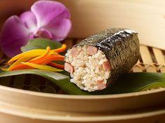 SPAM® Adobo Musubi - Try this spam musubi creation by Aloha Plate's Chef Adam Tabura.  Thanks to SPAM® brand for supporting Cooking Hawaiian Style & Aloha Plate! hawaiianforyou.com