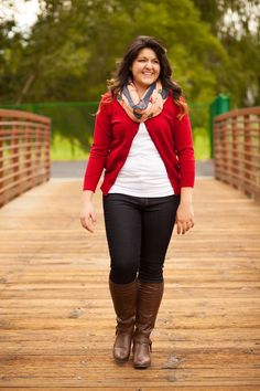 gorgeous plus size fall outfit-for us bigger girls. love this outfit.