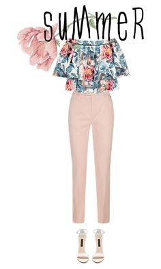 """summer"" by danielaelena1 on Polyvore featuring Escada Sport and Elizabeth and James"