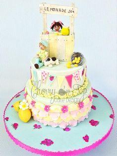 Sweet Lemonade Stand - Cake by Jamie Hodges
