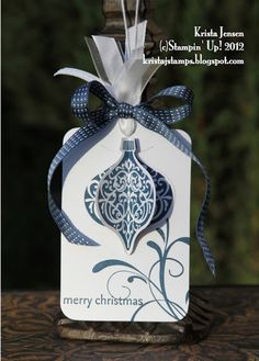 Krista's Stamper Room: Tag For Christmas
