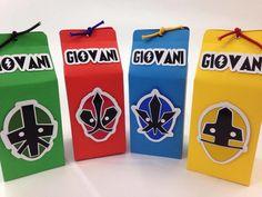 Caixinha Milk Power Rangers