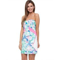 Cooper St - New Age Ditsy Strapless   Little Sale Birdy